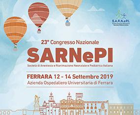 23° Congresso Nazionale SARNePI - Società di Anestesia e Rianimazione Neonatale e Pediatrica Italiana