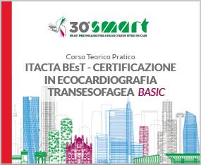 Corso Teorico Pratico - ITACTA BEsT - CERTIFICAZIONE IN ECOCARDIOGRAFIA TRANSESOFAGEA  - Basic