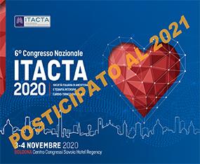6°  Congresso Nazionale ITACTA - Società Italiana di Anestesia e Terapia Intensiva Cardio-Toraco-Vascolare <br>RINVIATO