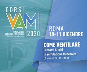VAM 2020 - COME VENTILARE<br>Percorsi Clinici in Ventilazione Meccanica