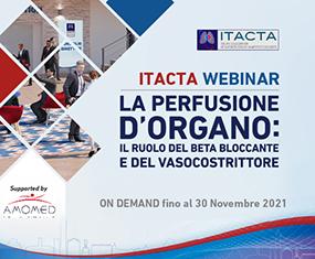 ITACTA WEBINAR<br>La Perfusione d