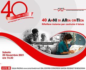 ANIARTI - 40 AnNI di ARea criTIca - Riflettere insieme per costruire il futuro